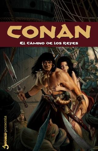Portadas de las colecciones diversas de Conan Sword_83