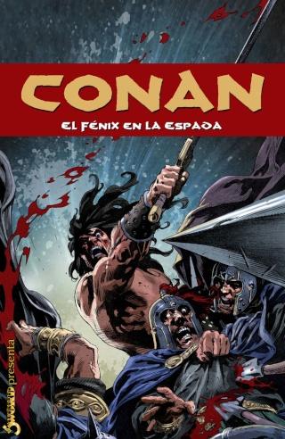 Portadas de las colecciones diversas de Conan Sword_86