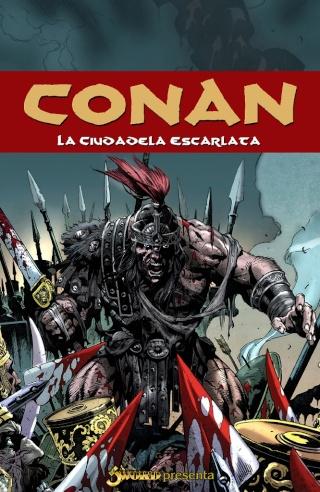 Portadas de las colecciones diversas de Conan Sword_87
