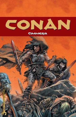 Portadas de las colecciones diversas de Conan Sword_88