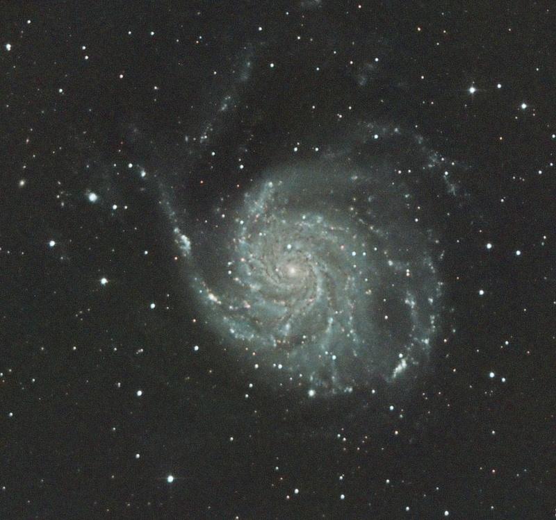 Premiere image CCD M101 en LRVB M10112