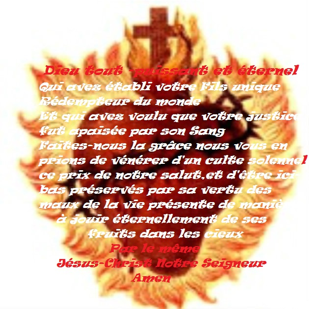 SONDAGE :  Avez-vous fait couvrir vos Maisons avec le Précieux Sang de Jésus ? - Page 34 0e8dbc16