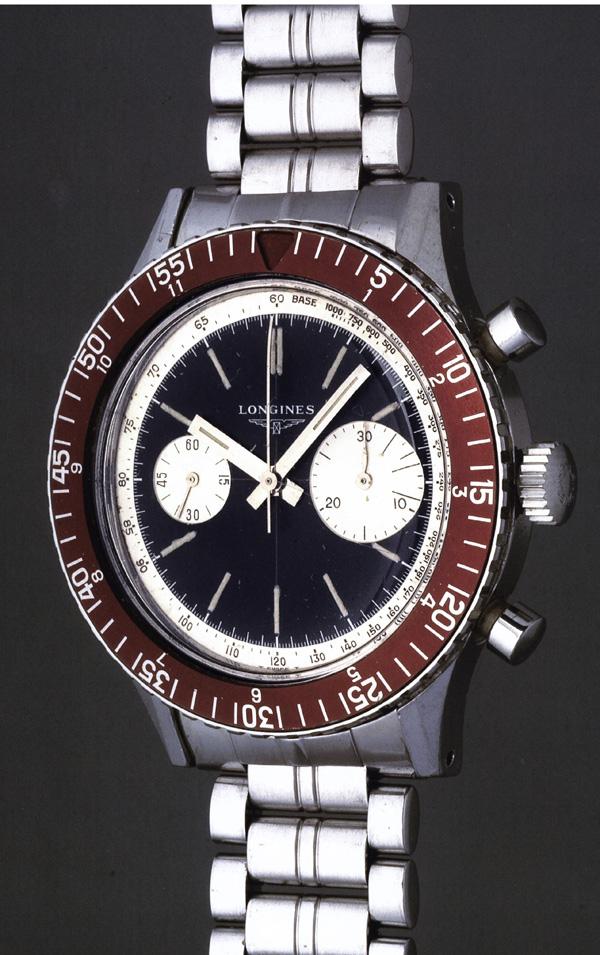 DIVER - Longines Heritage Diver 1967 Goldbe10