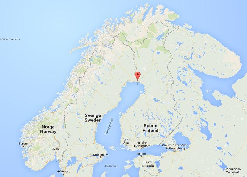 Keropudas, près de Torneå, Finlande