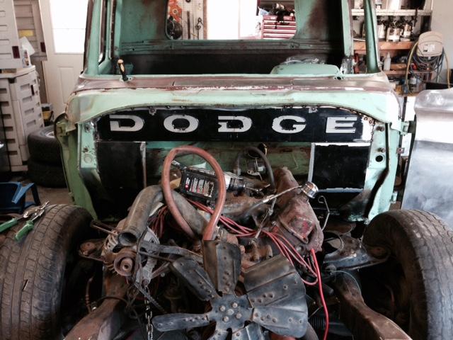 60 Dodge pickup Build Firewa13