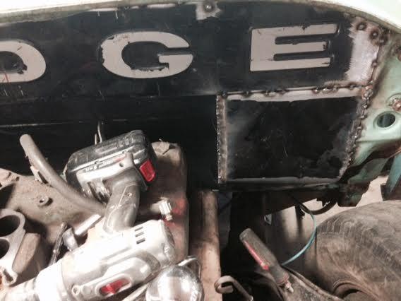 60 Dodge pickup Build Firewa19