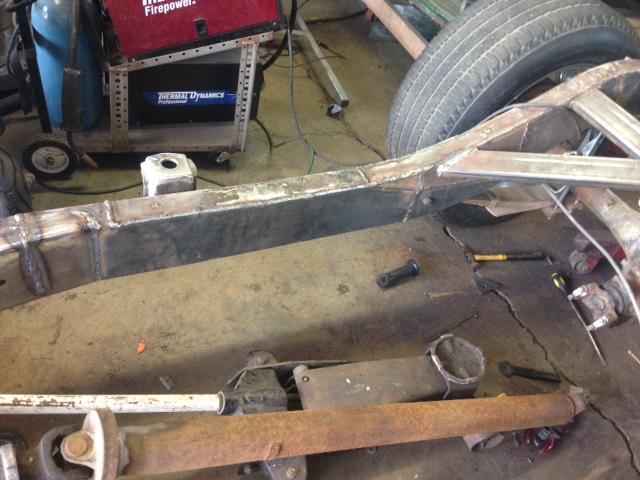 60 Dodge pickup Build - Page 2 Frame310
