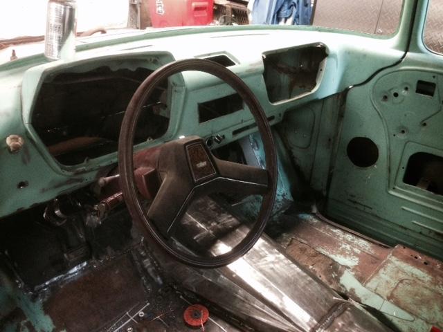 60 Dodge pickup Build Steeri13