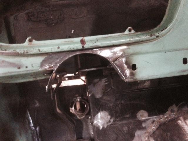 60 Dodge pickup Build Steeri14
