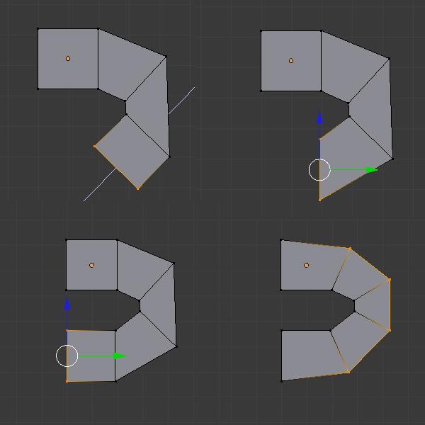 在Blender中创建低多边形霸王龙 第一部分Modeling, UVmapping And Texturing A Low Poly T-Rex In Blender: Part 1 As810
