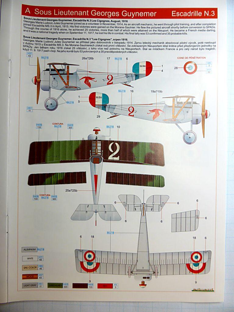 Concours 1ere Guerre Mondiale: [Eduard] Nieuport Ni-17 Sgt Boyau Ni-17_14