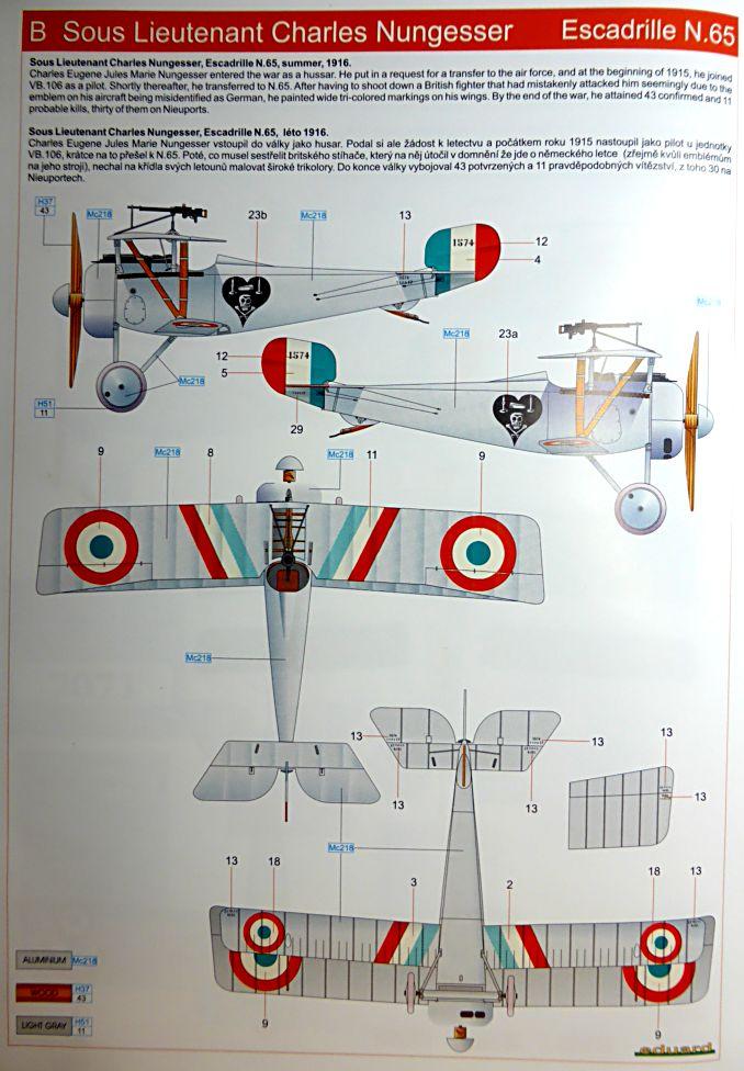 Concours 1ere Guerre Mondiale: [Eduard] Nieuport Ni-17 Sgt Boyau Ni-17_15
