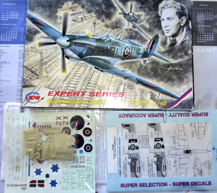 [Hobby Craft] Seafire XV Supermarine rénové en Spitfire MkIX Israeli Air Force 1949 Superm10