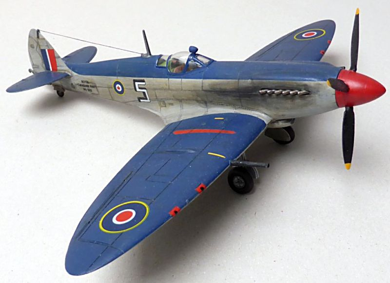 [Hobby Craft] Seafire XV Supermarine rénové en Spitfire MkIX Israeli Air Force 1949 Superm11