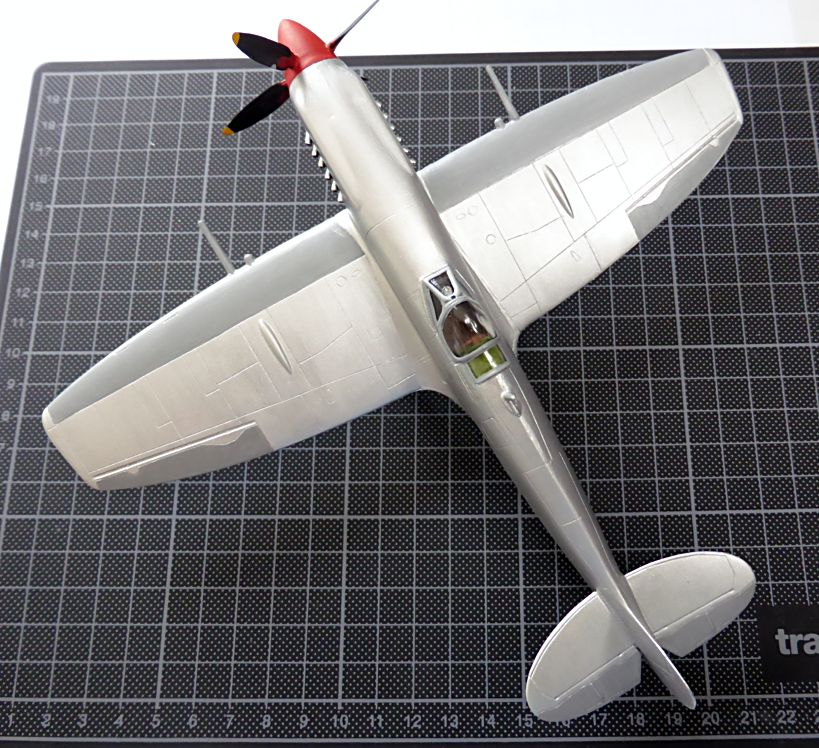 [Hobby Craft] Seafire XV Supermarine rénové en Spitfire MkIX Israeli Air Force 1949 Superm22