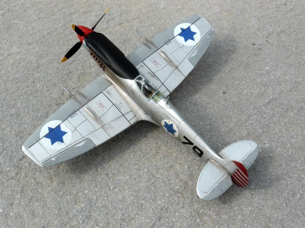 [Hobby Craft] Seafire XV Supermarine rénové en Spitfire MkIX Israeli Air Force 1949 - Page 2 Superm37