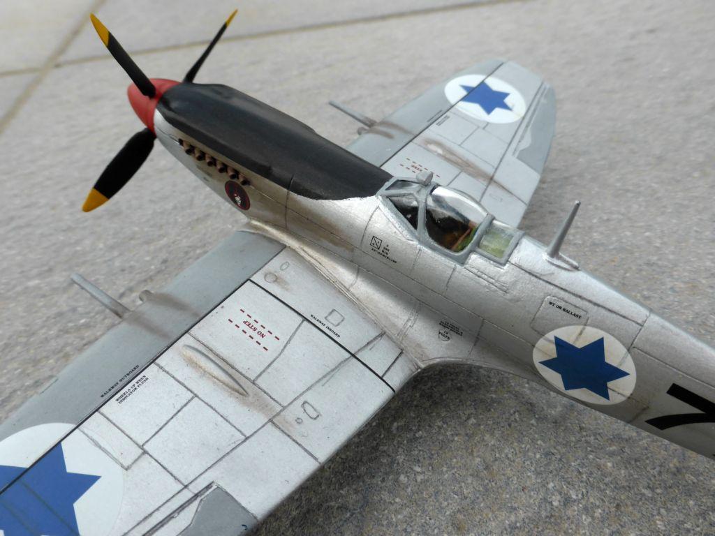 [Hobby Craft] Seafire XV Supermarine rénové en Spitfire MkIX Israeli Air Force 1949 - Page 2 Superm38
