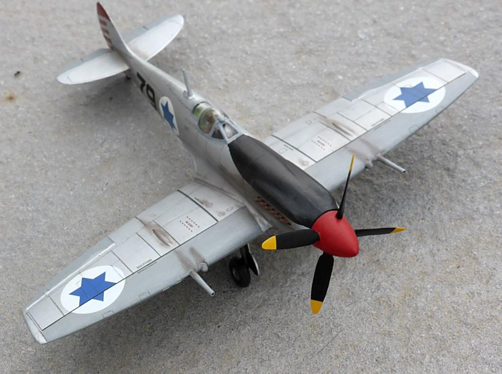 [Hobby Craft] Seafire XV Supermarine rénové en Spitfire MkIX Israeli Air Force 1949 - Page 2 Superm42