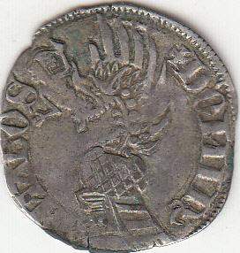 Gros italien (pegione) de Barnabé Visconti (1354-1385) Rv10