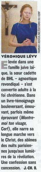 La très touchante conversion de Véronique Lévy au Catholicisme - Page 2 Figaro10