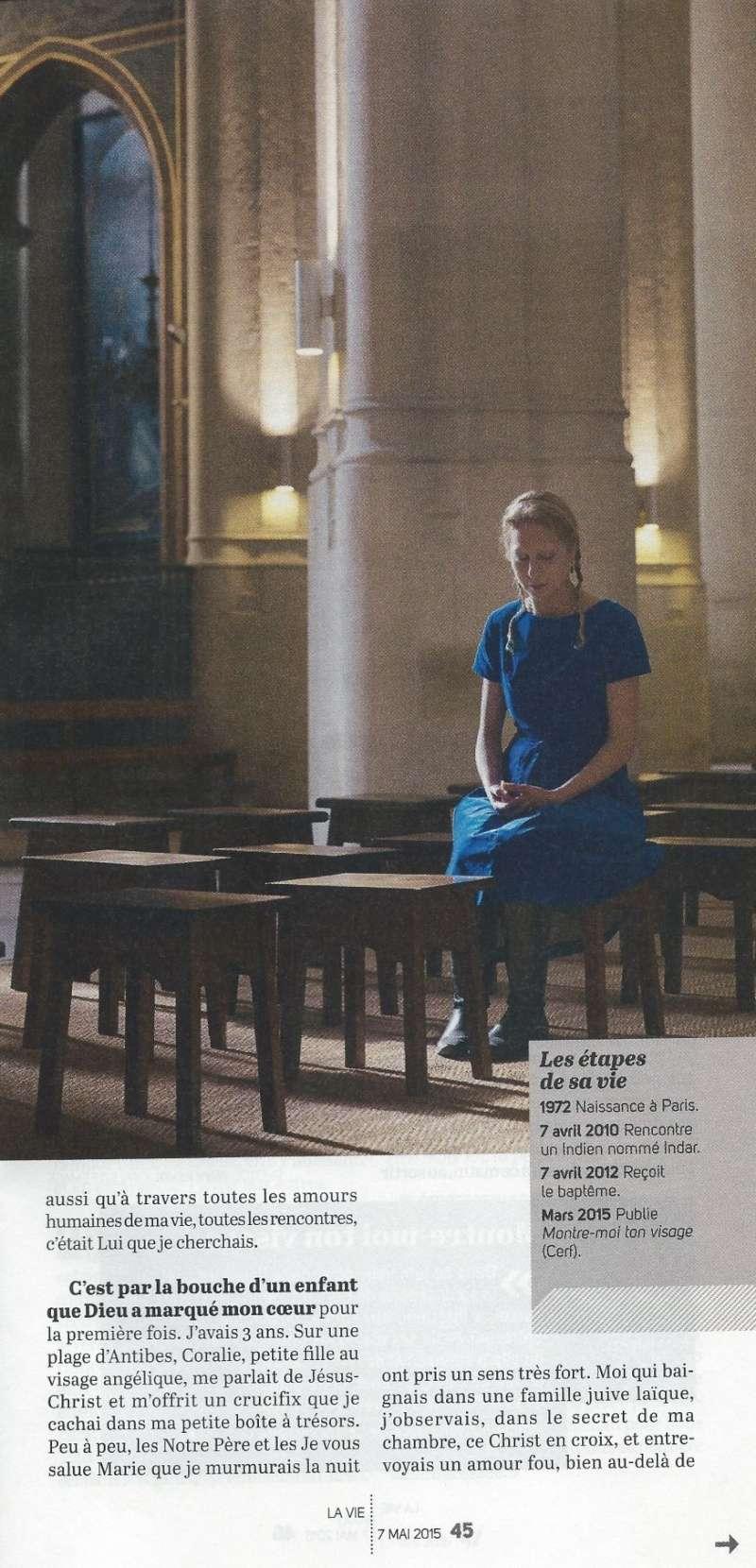 La très touchante conversion de Véronique Lévy au Catholicisme - Page 2 Lavie310