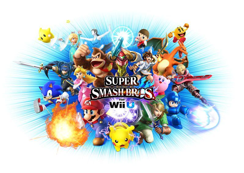 Cinq cadres blancs sur le site de Super Smash Bros. 27214210
