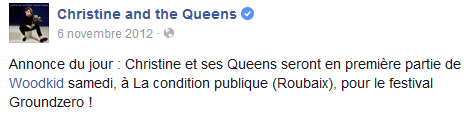 CHRISTINE & THE QUEENS - Queen of Pop. - Page 7 Condit10