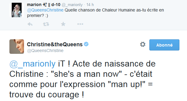 CHRISTINE & THE QUEENS - Queen of Pop. - Page 6 Uillm10