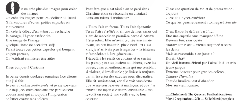 CHRISTINE & THE QUEENS - Queen of Pop. - Page 6 Verifi10