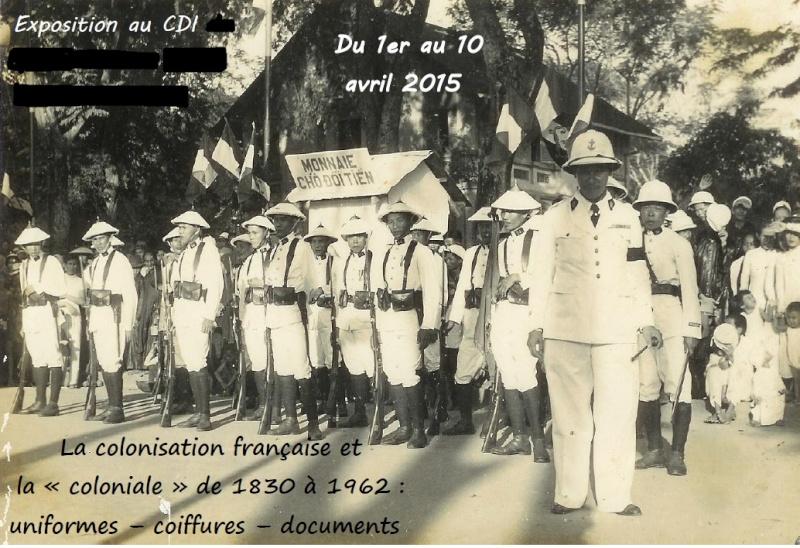 """Exposition : la colonisation française et la """"coloniale"""" de 1830 à 1962 Affich10"""