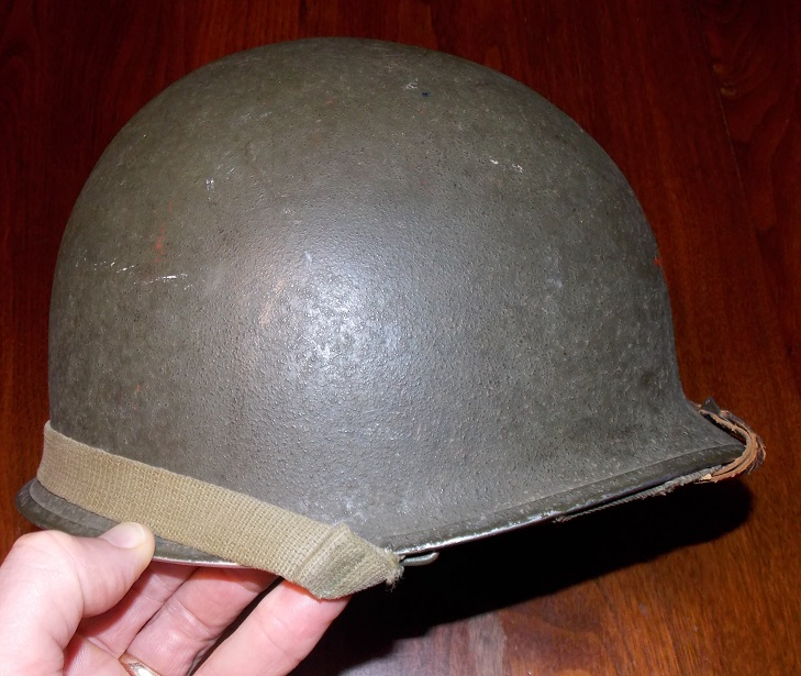 Lets see your favorite worn Canadian/Commonwealth helmets with nice aged patina - Page 2 Can210