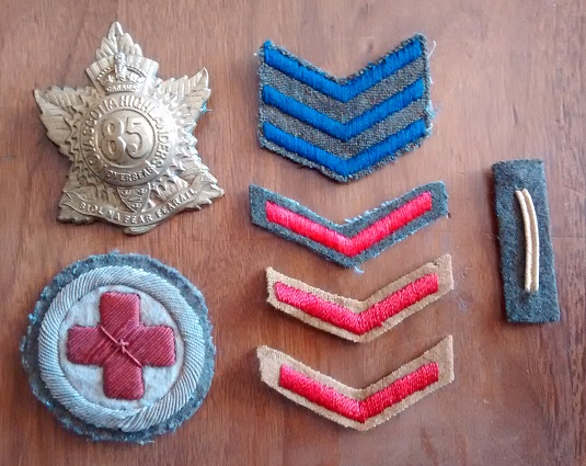 WTS WWI Badges WWII Wound Stripe Patch110
