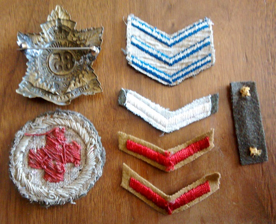 WTS WWI Badges WWII Wound Stripe Patch210