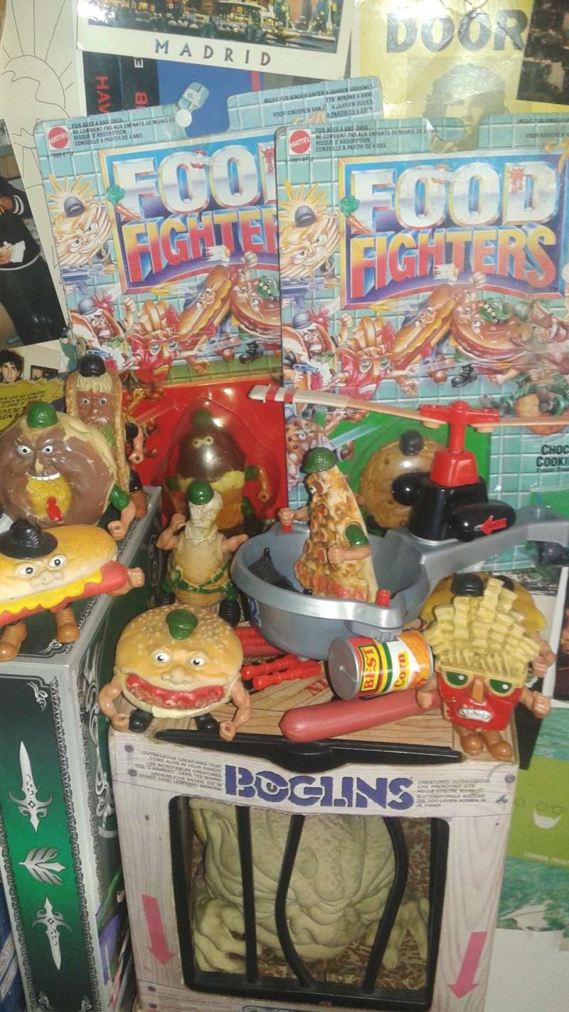 food - collezione completa FOOD FIGHTER + HELIBOMBER 20150524