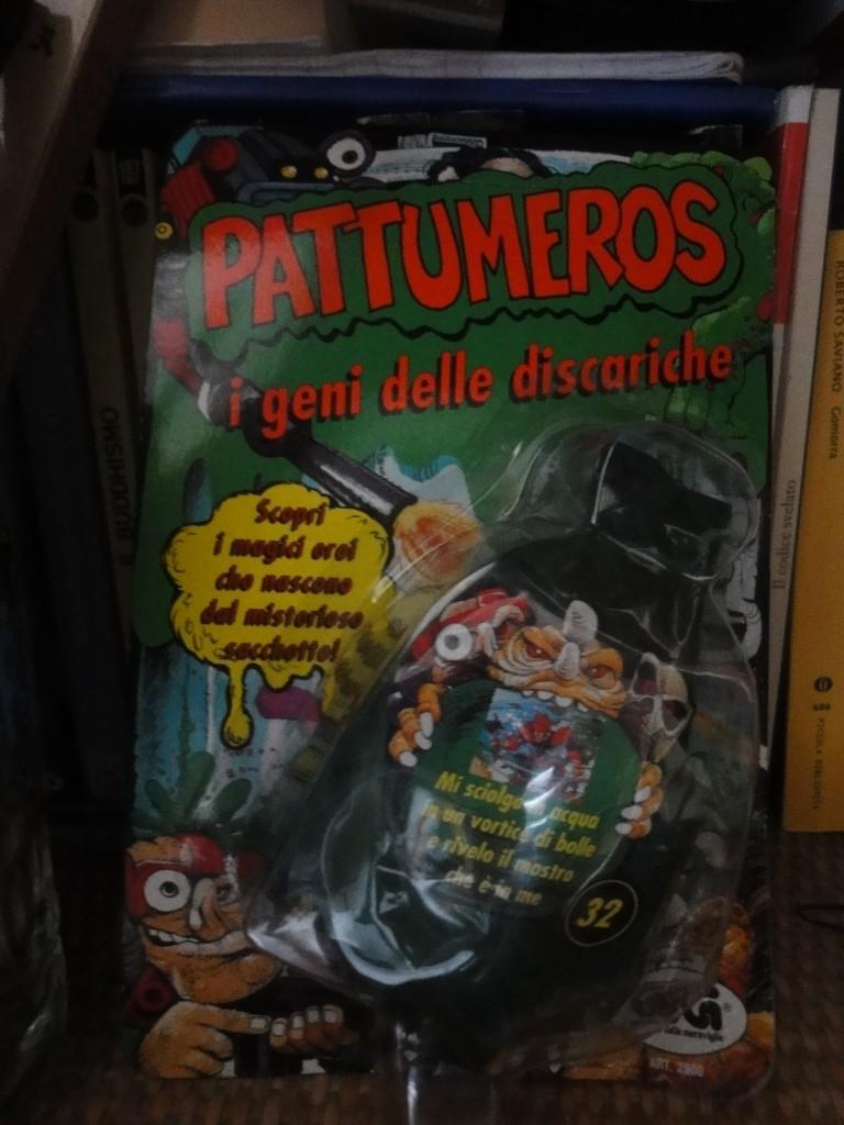 vendo blister PATTUMEROS mai aperto Dsc06610