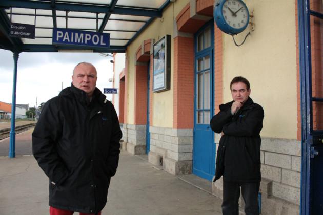 Paimpol Ligne Paimpol-Guingamp. Le personnel de la CFTA attend « des actes » Img_4410
