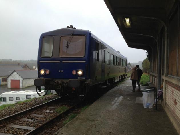 Pontrieux Ligne Guingamp-Paimpol. Un rassemblement le 7 avril Train-10