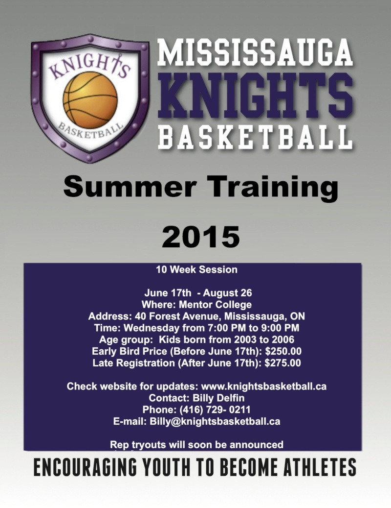 Mississauga Knights Summer Training 2003 to 2006 Missis11
