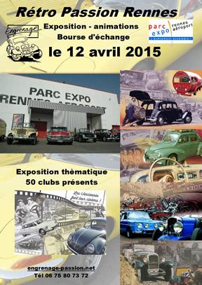 RETRO PASSION RENNES 2015 Affich10