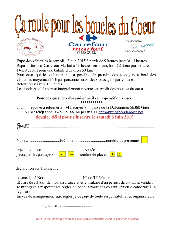 LES BOUCLES DU COEUR LE 13 JUIN 2015 Projet10