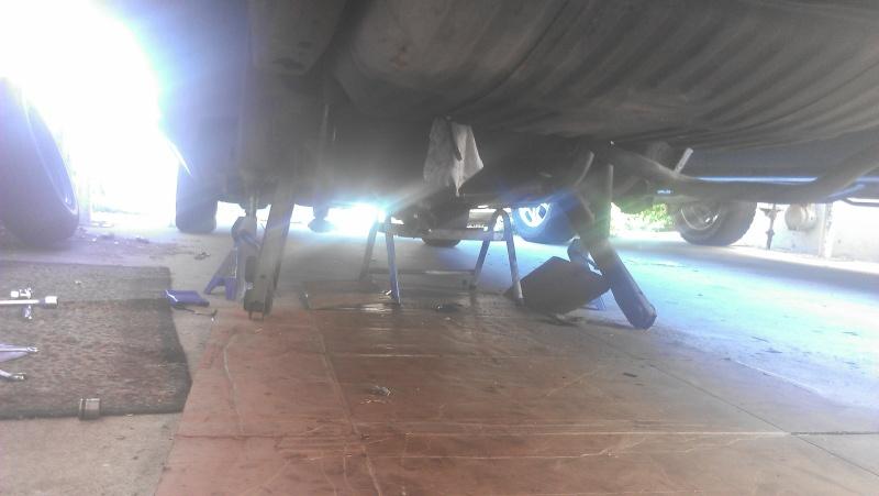 95 impala ss rearend swap into 77 caprice Image27