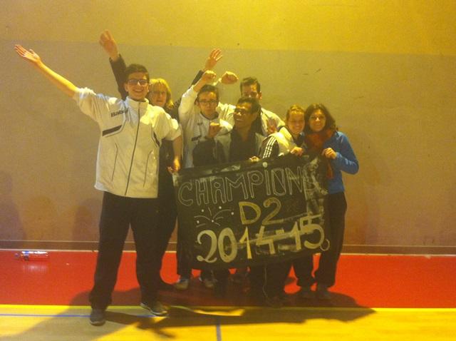Sucy Equipe 1 (2014-2015) Campio12