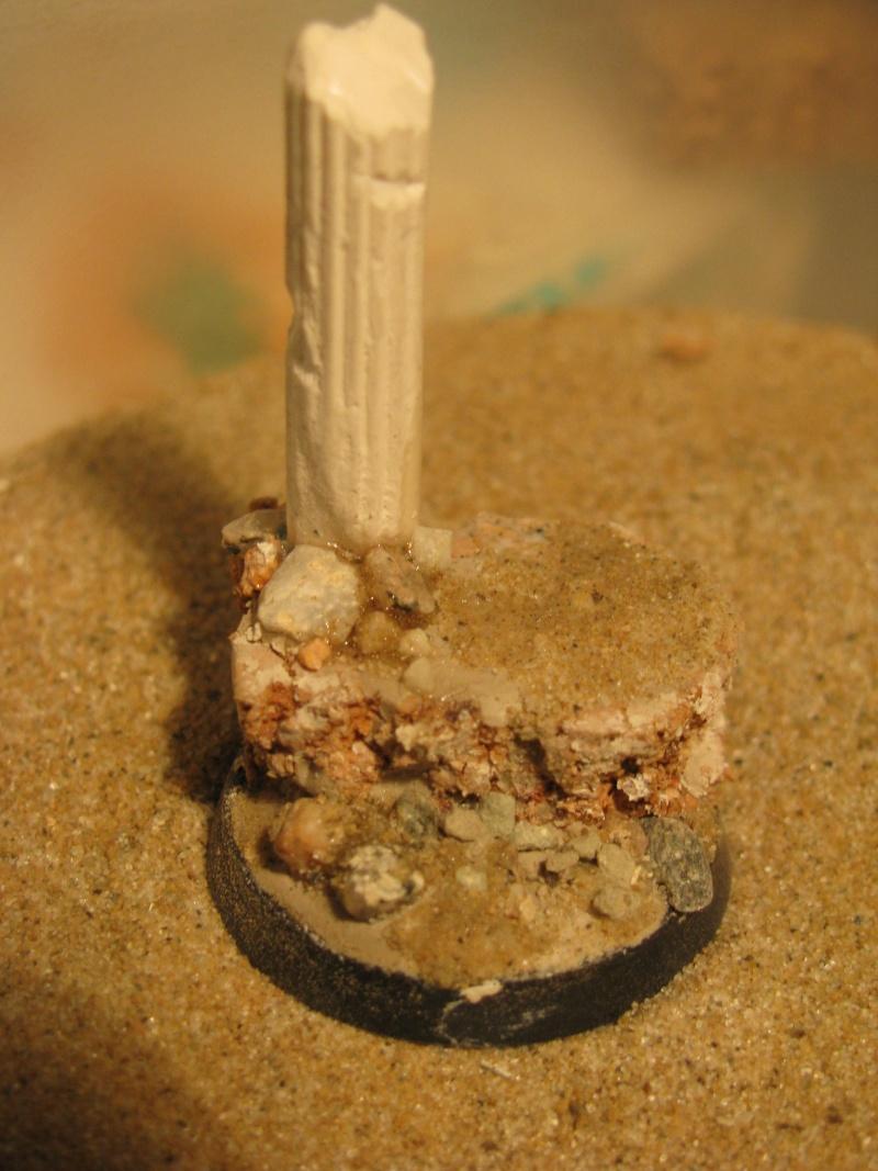 réaliser un socle colonne antique en ruine en 10 minutes! Img_4812