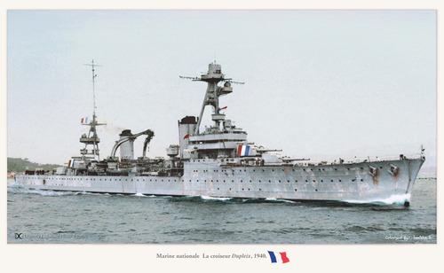 Dio Richelieu à Dakar 1941-1942 : Partie-3 (Trumpeter 1/350°) par LA VEILLE - Page 4 Duplei12