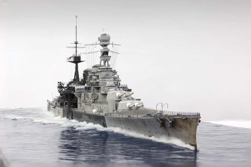 Dioramas de navires de guerre de Chris FLODBERG Repuls10