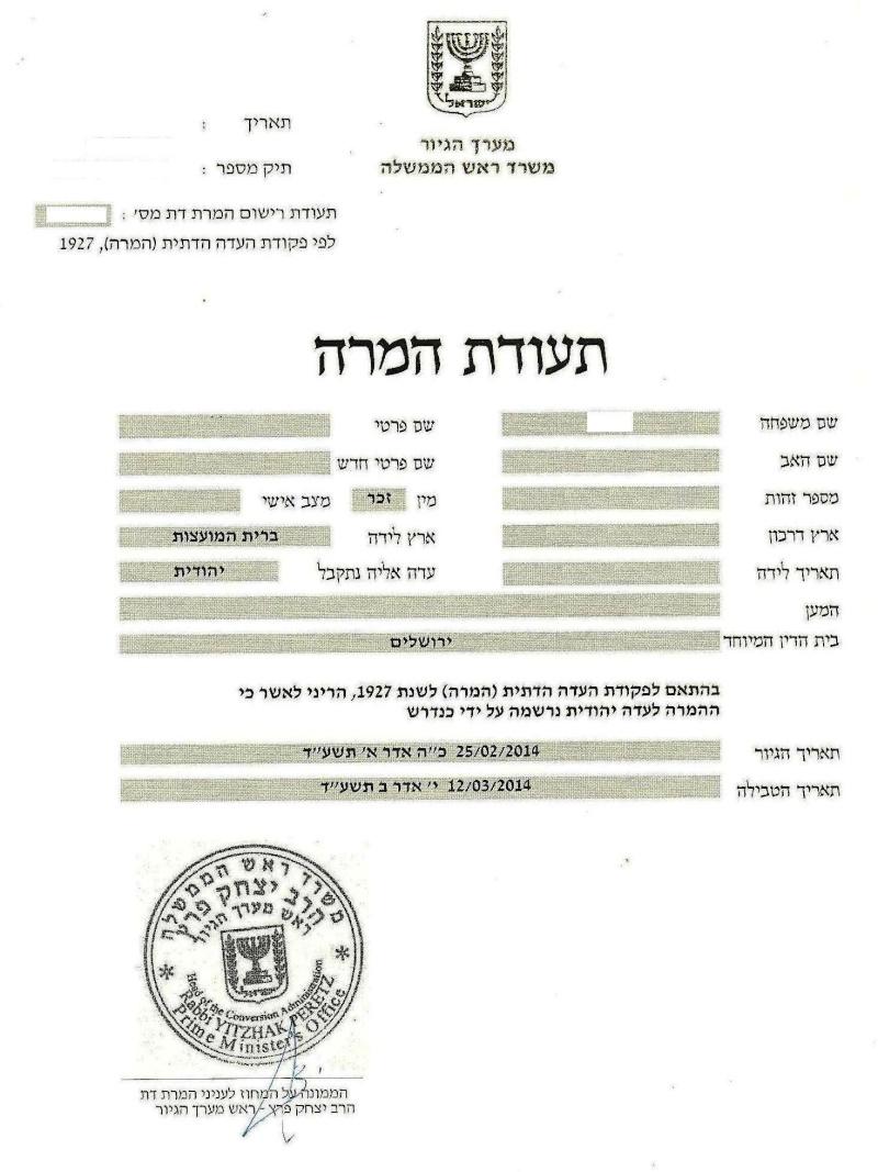 документы - Документы выданные в Израиле 2014_010