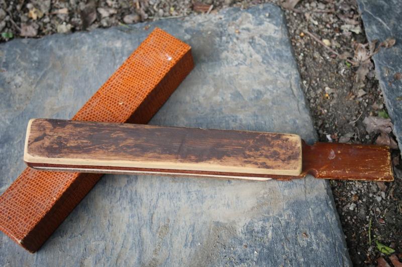 Nettoyer un paddle trouver en vide grenier Img_4611