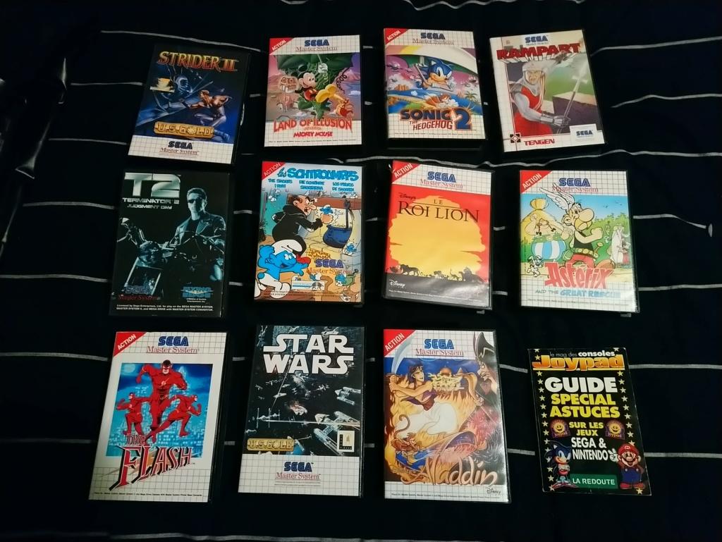 [VDS] Lot de Jeux Master System 15482812