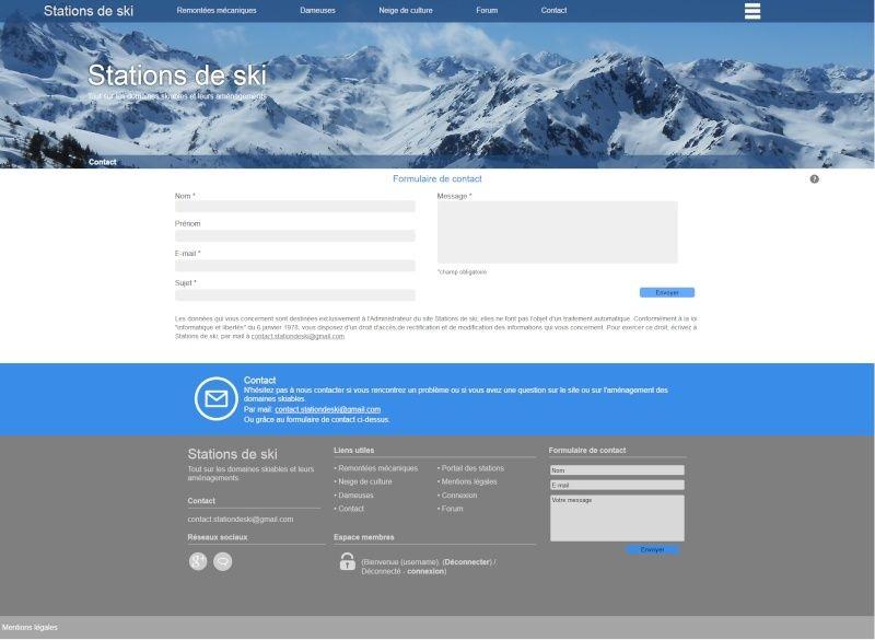 Nouveau site Stations de ski Contac10