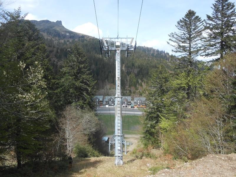 Remplacement du télésiège Masseboeuf Travaux Le Lioran 2015 Dscn2513